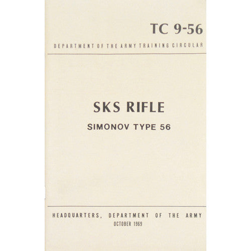 SKS Rifle Siminov Type  Manual