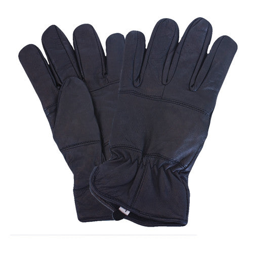 AllLeather Police Glove With Fleece Liner
