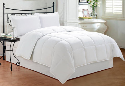 1500 Thread Count All Year Warm Luxurious Down Alternative Comforter Solid