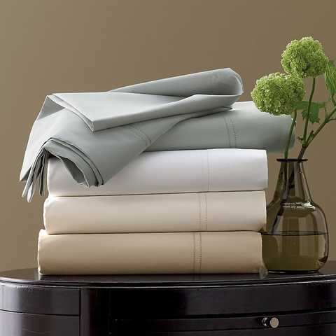 Egyptian Cotton Bed Sheet (Single) - 1200 Thread Count (Solid)