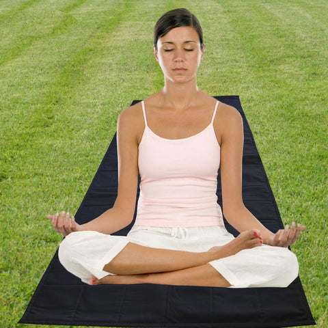 Comfortable, and Soft 100% Cotton Extra Long Yoga Mat - in many Sizes & Colors (New Arrival)