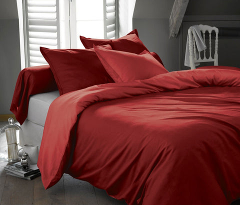 1200 Thread Luxurious Bed in a Bag Set Solid - 7 Piece & Multiple Colors