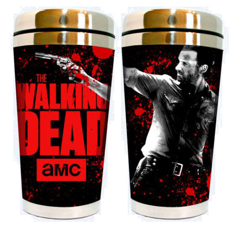 Rick Grimes 16oz Travel Mug