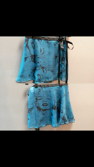 Marilyn Print Skirt Blue