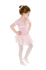 Ribbon Skirted Leotard