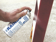 Fiberglass protective coating is easy to apply and prevents fiberglass ladder damage.