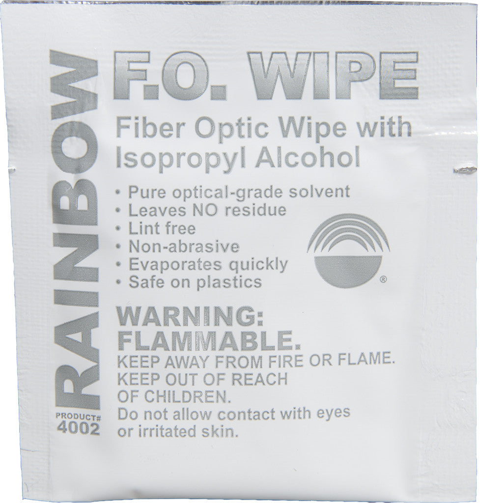 Fiber Optic Wipe