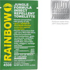 Jungle Formula Insect Repellent Towelette