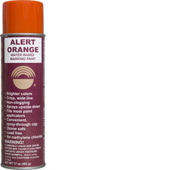 Alert Orange Water Paint