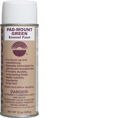 Pad-Mount Green Enamel Paint
