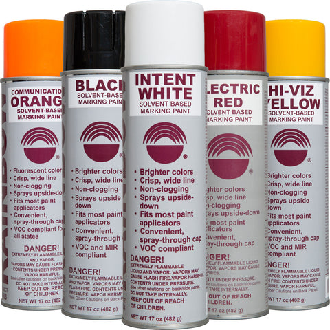 Solvent-Based Inverted-Tip Marking Paints