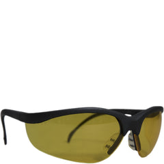 MCR Crews Klondike Amber Safety Glasses