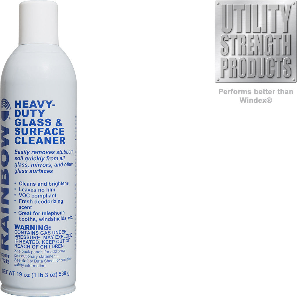 Heavy-Duty Glass & Surface Cleaner Aerosol