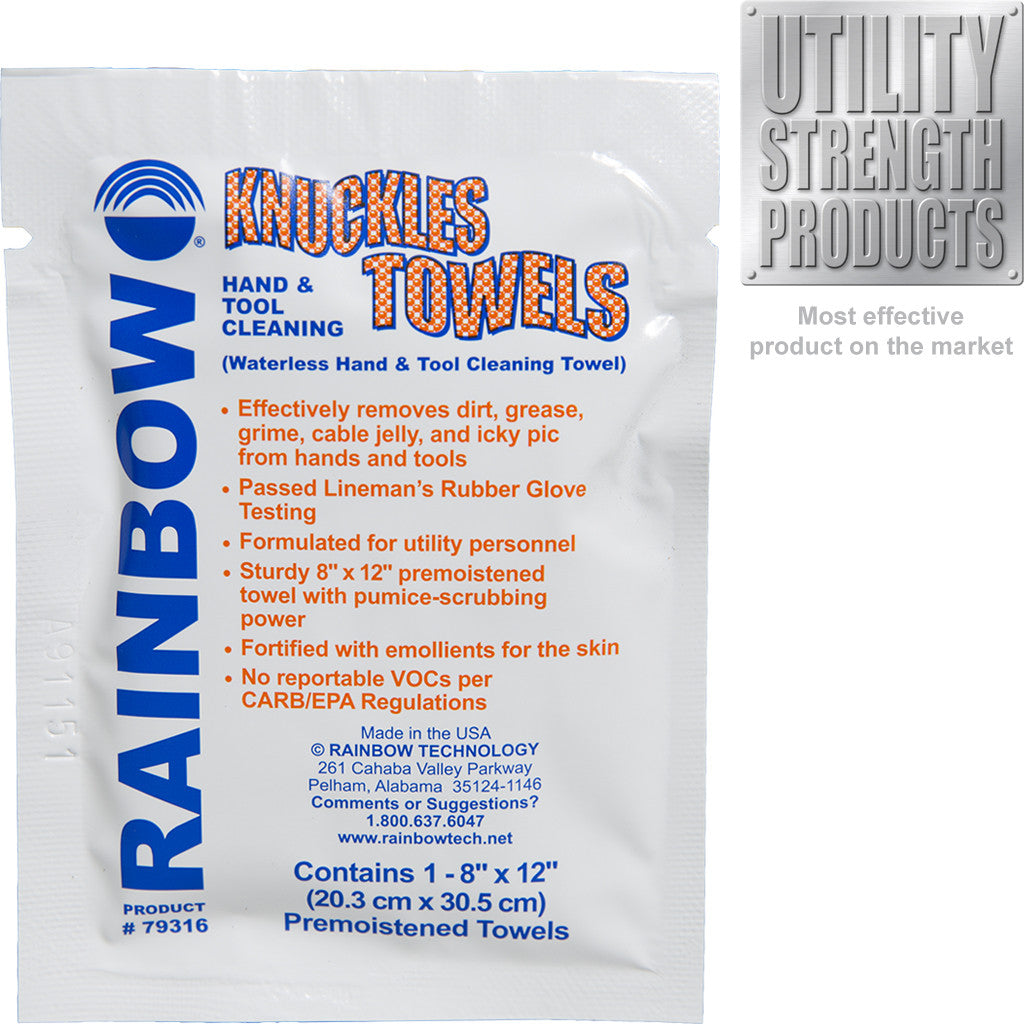 Knuckles Towel Individual