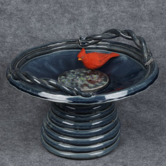 Coiled and Curvy Bird Bowl