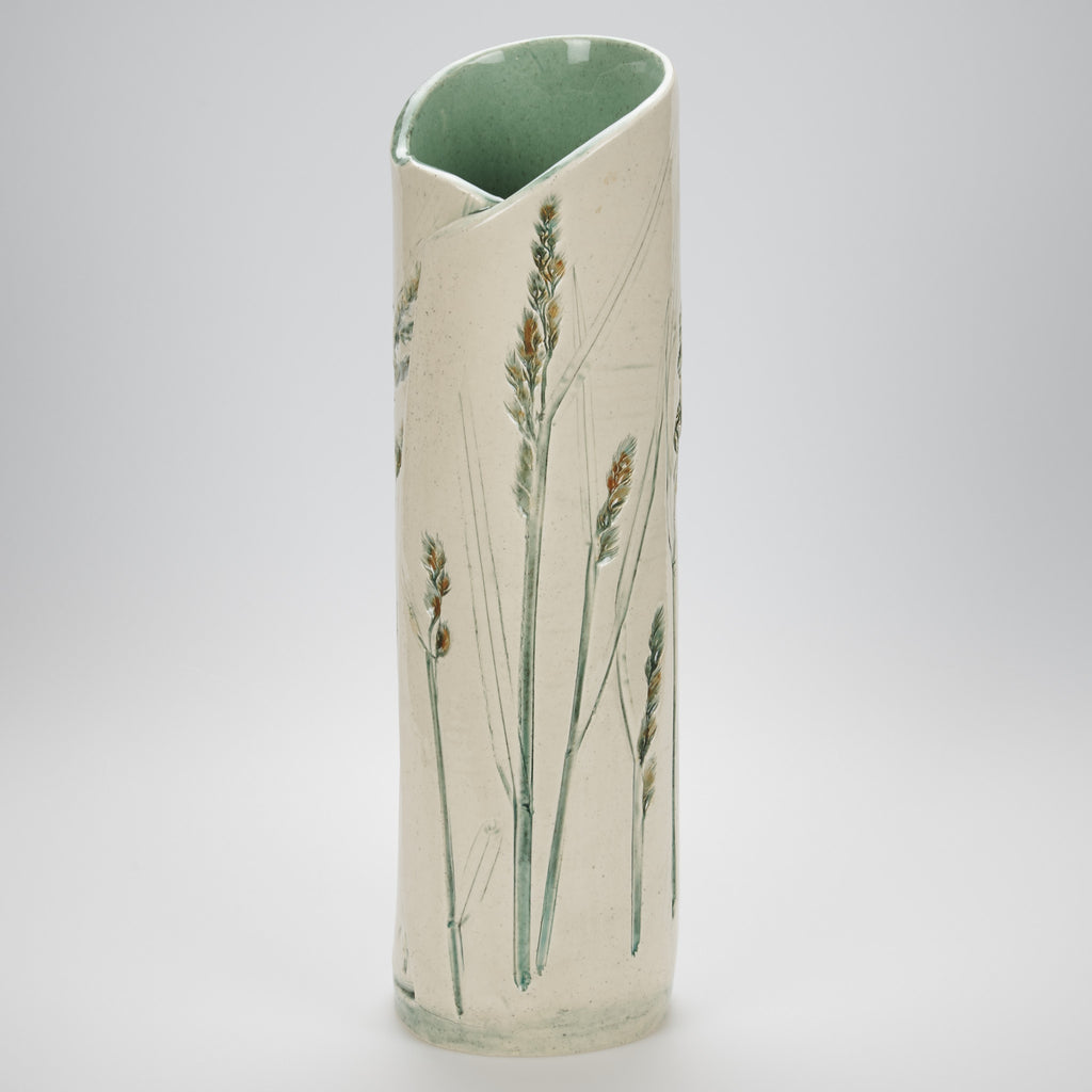 Tall Clumpy Grass Vase