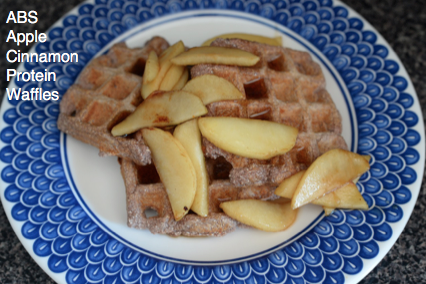ABS Apple Cinnamon Protein Waffles