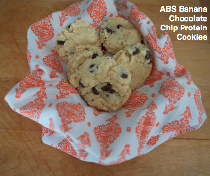 ABS Banana Chocolate Chip Protein Cookies Recipe