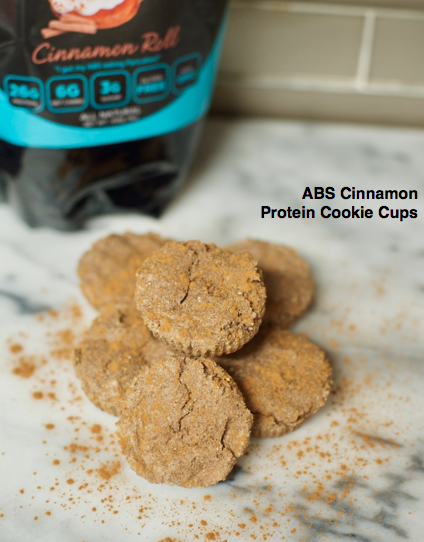 ABS Cinnamon Protein Cookie Cups