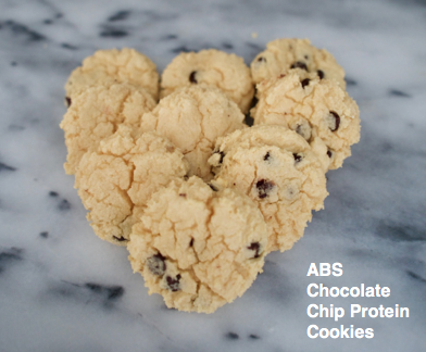 ABS Chocolate Chip Protein Cookies