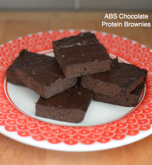 ABS Chocolate Protein Brownies
