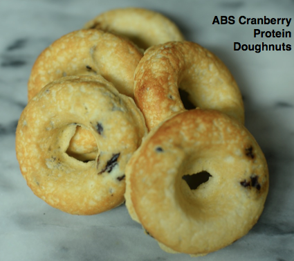 ABS Cranberry Protein Doughnuts