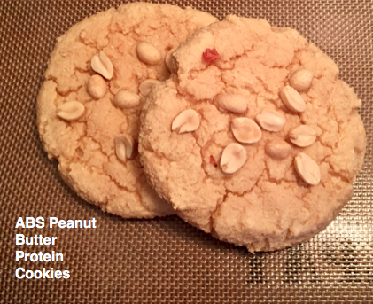 ABS Peanut Butter Protein Cookies Recipe