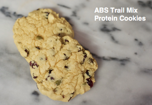 ABS Trail Mix Protein Cookies