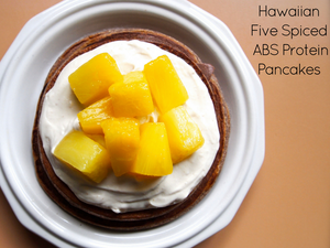 Hawaiian Five Spiced ABS Protein Pancakes