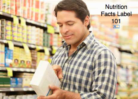 How to read a nutrition label?