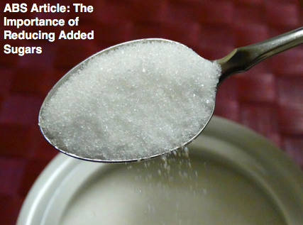 The Importance of Reducing Added Sugars