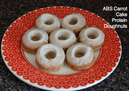 ABS Carrot Cake Protein Doughnuts
