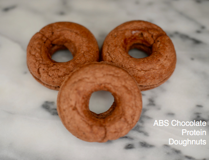 ABS Chocolate Protein Doughnuts