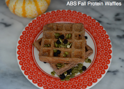ABS Fall Protein Waffles