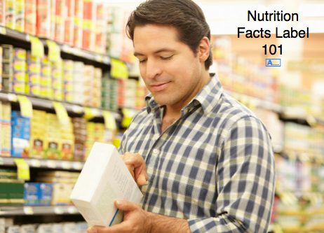 Nutrition Facts Label 101