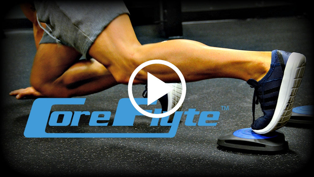 Core Flytes Plus BOSU Equals Awesome Moves