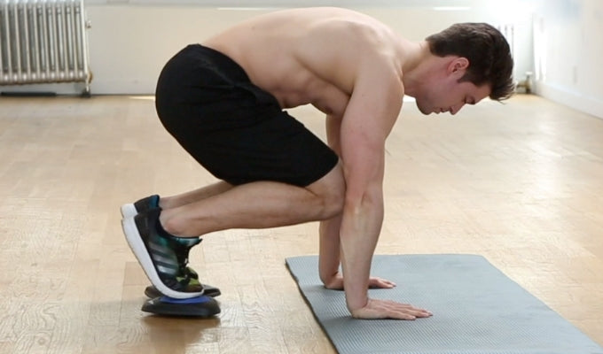 Knee Tuck Pushups
