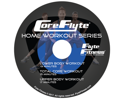 Core Flyte Home Workout DVD - Series 1