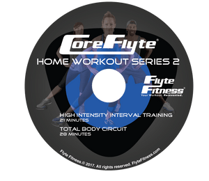 Core Flyte Home Workout DVD - Series 2