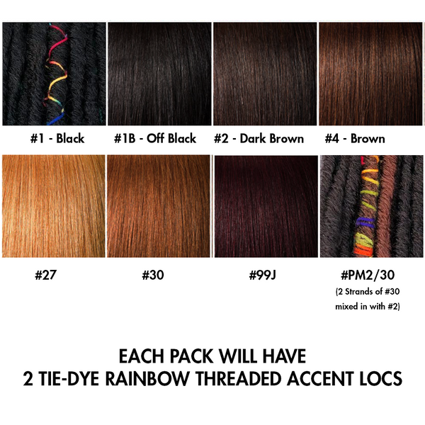 Bae Locs 12 Color Chart