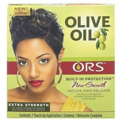 ORS Olive Oil Built-In Protection New Growth No-Lye Hair Relaxer Extra Strength