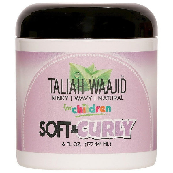 Taliah Waajid Kinky Wavy Natural Soft and Curly Jelly 6 Ounce