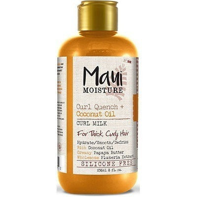Maui Moisture Curl Quench Coconut Oil Curl Milk 8 Ounce