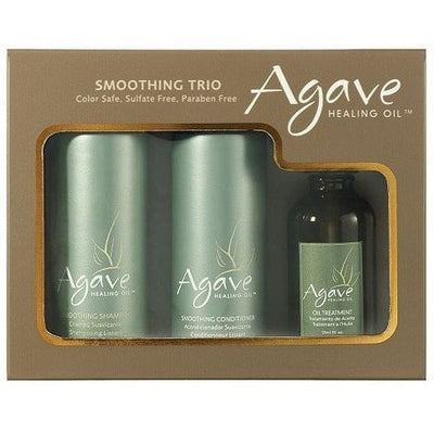 Agave Healing Oil Smoothing Trio - LocoBeauty
