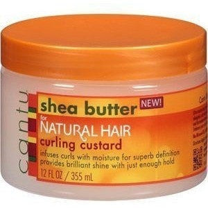 Cantu Shea Butter for Natural Hair Define & Shine Custard 12 Ounce