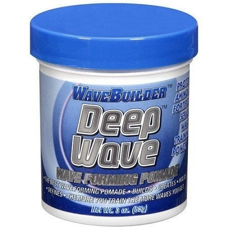 Wave Builder Deep Wave Forming Pomade 3 Ounce