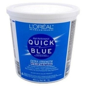 Loreal Technique High Performance Quick Blue Powder Bleach - LocoBeauty