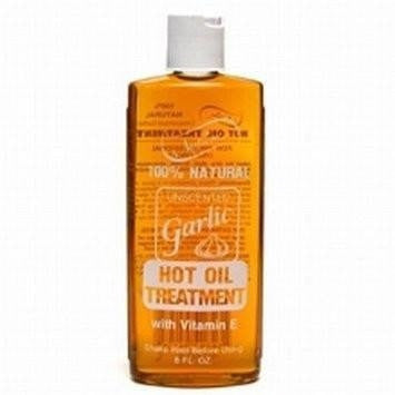 Nutrine Garlic Hot Oil Treatment Unscented 8 Ounce