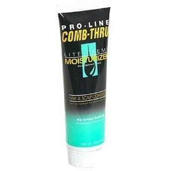 Pro-Line Comb-Thru Lite Creme Moisturizer Hair & Scalp Conditioner 4 Ounce