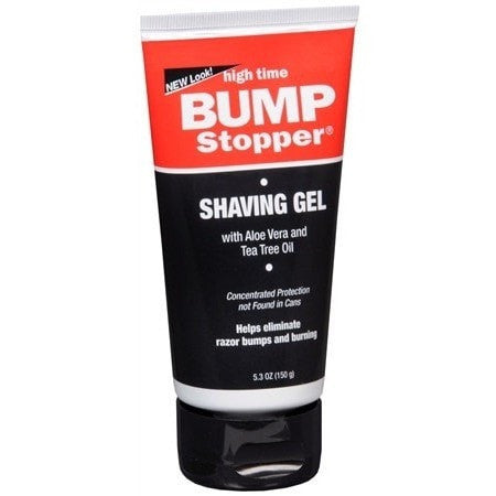 High Time Bump Stopper Shaving Gel With Aloe Vera And Tea Tree Oil 5.3 Ounce